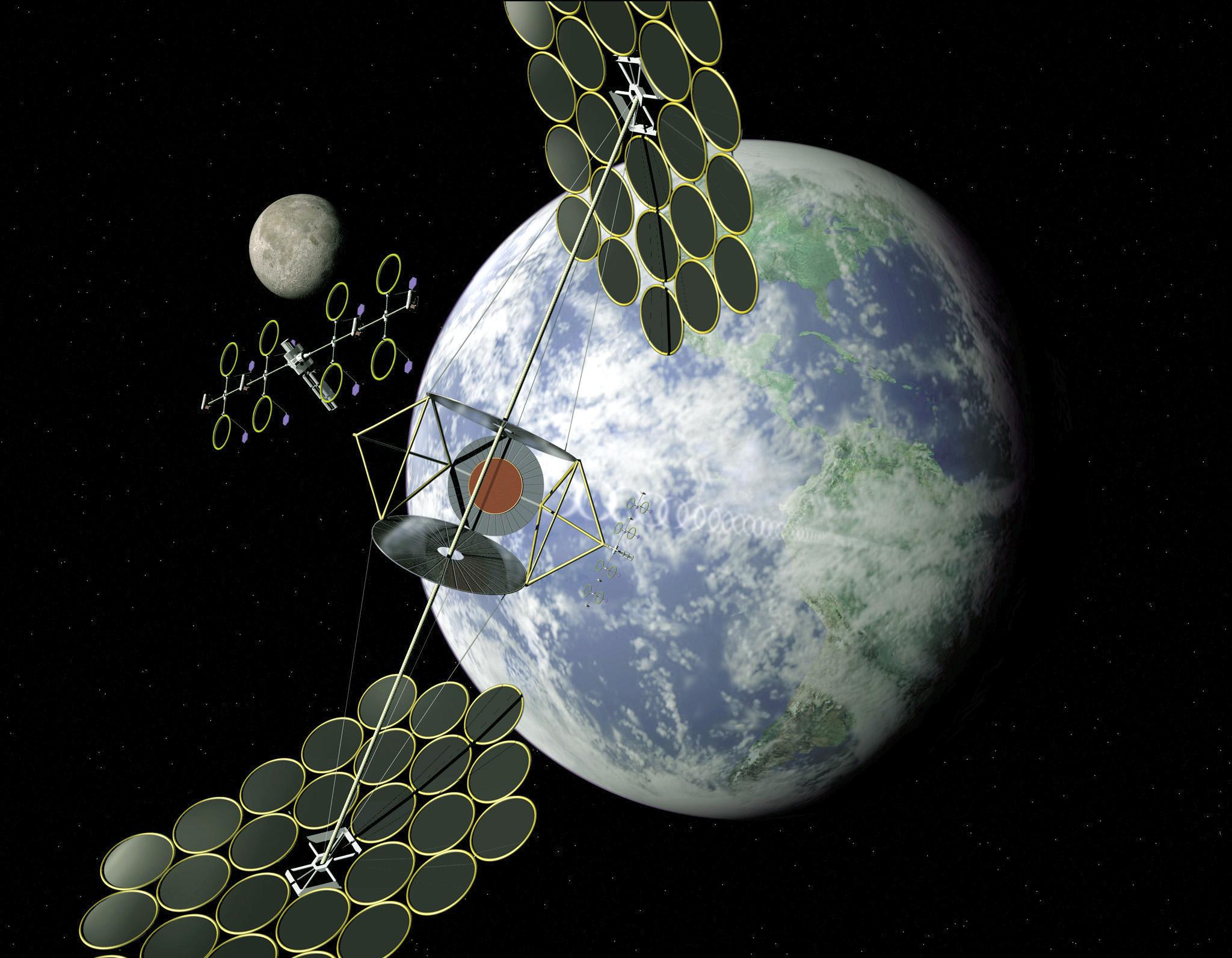 Solar Satellite Power System Ppt Nasa Solar Power Satellite